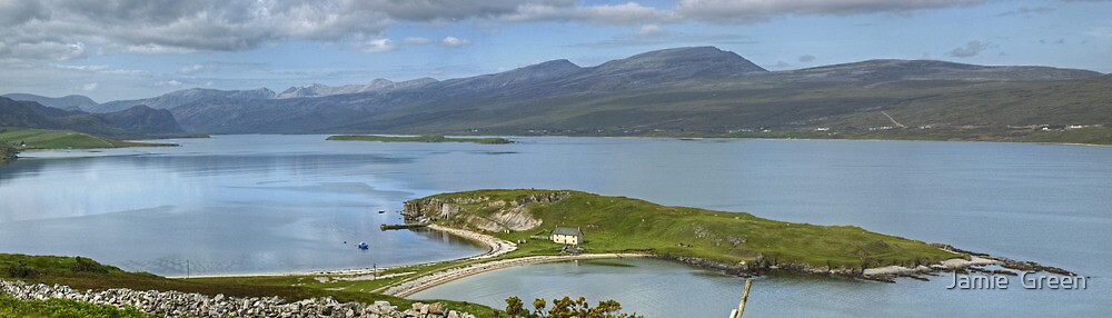 Loch Eriboll ..Island and Causeway by Jamie  Green