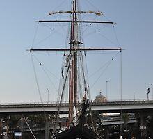 """Tall Ship """"Oosterschelde"""", Sydney, Australia 2013 by muz2142"""