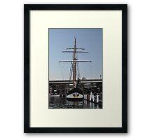 "Tall Ship ""Oosterschelde"", Sydney, Australia 2013 Framed Print"