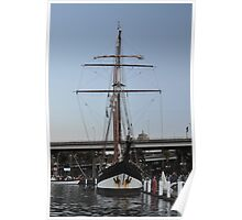 "Tall Ship ""Oosterschelde"", Sydney, Australia 2013 Poster"