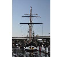 "Tall Ship ""Oosterschelde"", Sydney, Australia 2013 Photographic Print"