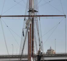 "Tall Ship ""Oosterschelde"", Sydney, Australia 2013 Sticker"