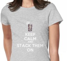 THE ART OF STACKING BANGLES Womens Fitted T-Shirt