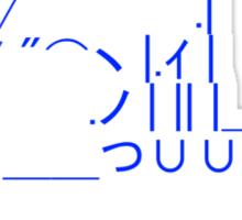 Tablecat Blue Sticker