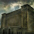 Detroit, Michigan Central Station by Malena Fryar