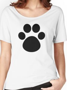 Cat Paw Women's Relaxed Fit T-Shirt