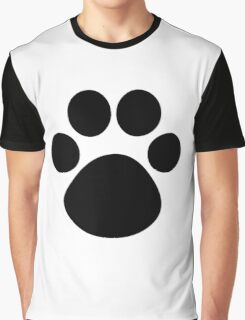 Cat Paw Graphic T-Shirt