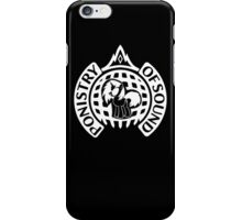 Ponistry Of Sound (White) iPhone Case/Skin