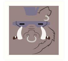 Bebop Minimalistic Design Art Print