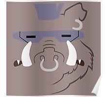 Bebop Minimalistic Design Poster