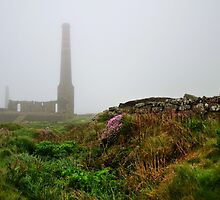Moody Cornwall ~ Levant Mine by Susie Peek