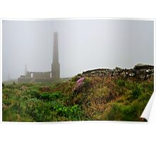 Moody Cornwall ~ Levant Mine Poster
