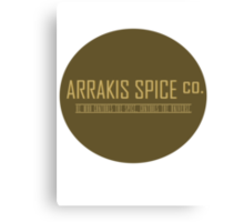Dune Arrakis Spice Co. Canvas Print