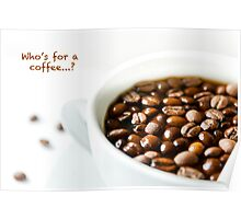 Who's for a coffee...? Poster