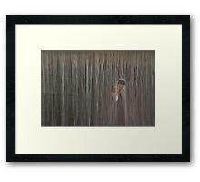 Shower, Seoul, Korea Framed Print