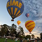 Hot Air Balloons, Canberra Centenary, Australia 2013 by muz2142