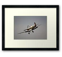 Spitfire BM597 JH-C Framed Print