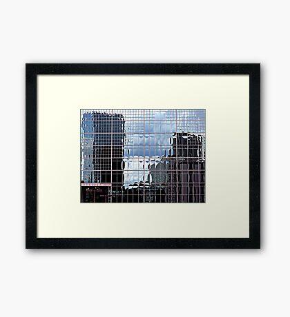 Urban Abstraction Framed Print