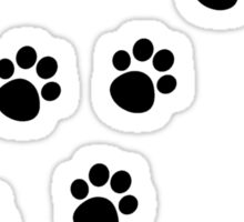 Cat Paw Track Sticker