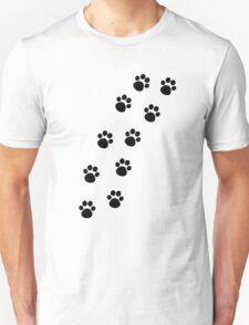 Cat Paw Track T-Shirt