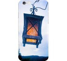 INTENSE BLUE LIGHT iPhone Case/Skin