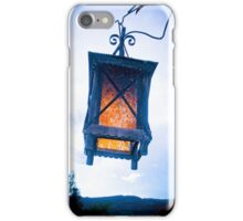INTENSE BLUE LIGHT iPhone Case/Skin