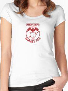 Nerd Corps Semper 3.1415 s Women's Fitted Scoop T-Shirt
