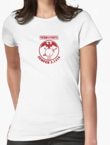 Nerd Corps Semper 3.1415 s Womens Fitted T-Shirt