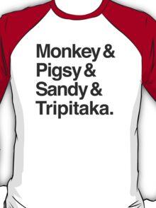 Monkey & Pigsy & Sandy & Tripitaka T-Shirt