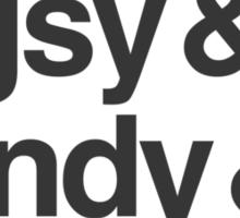 Monkey & Pigsy & Sandy & Tripitaka Sticker