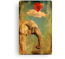 Alone In My World Canvas Print