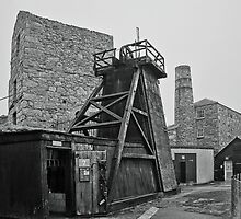 Levant Tin Mine ~ Cornwall by Susie Peek