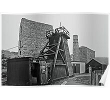 Levant Tin Mine ~ Cornwall Poster