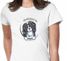 Tricolor Cavalier CKCS :: It's All About Me Womens Fitted T-Shirt