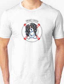 Tricolor Cavalier CKCS :: First Mate Unisex T-Shirt