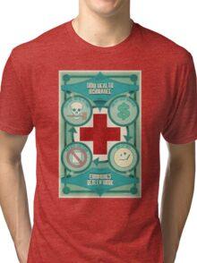 How Health Insurance Companies Really Work Tri-blend T-Shirt
