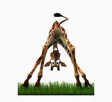 Boo! Says Olympia The Giraffe Men's Baseball ¾ T-Shirt