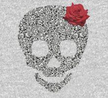 Skull rose One Piece - Short Sleeve