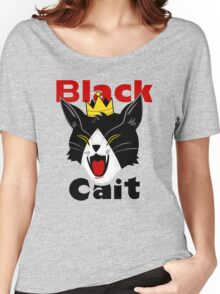 Black Cait Fireworks Women's Relaxed Fit T-Shirt