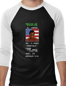 Apollo Creed's Punch-Out!! Men's Baseball ¾ T-Shirt