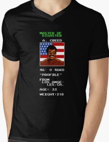 Apollo Creed's Punch-Out!! Mens V-Neck T-Shirt