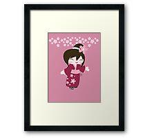 Kawaii Girl Framed Print