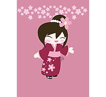 Kawaii Girl Photographic Print