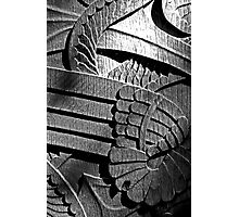 Carved door Photographic Print