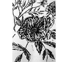 Flower Design II Photographic Print