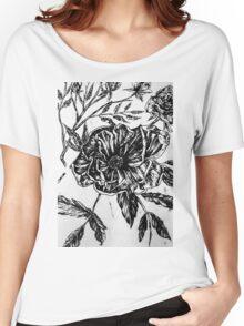 Flower Design II Women's Relaxed Fit T-Shirt