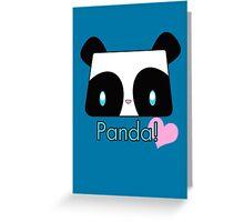 Panda! Greeting Card