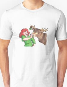 Christmas Fun with Lily and Prongs Unisex T-Shirt
