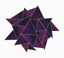 Galaxy Triangles Kids Tee