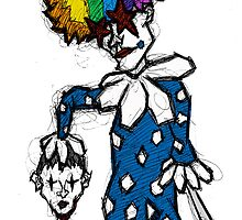 Killer Clown by Brett Gilbert